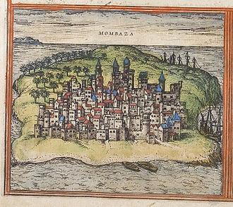 Timeline of Mombasa - Mombaza, 16th century