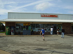 Brenham, Texas - Stop N'Save, which had served as the terminal for Greyhound Lines-affiliated operations