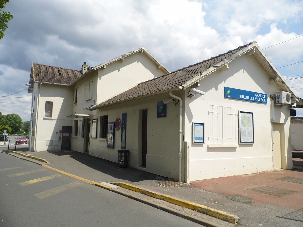 gare de breuillet village wikip dia