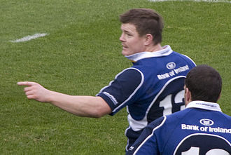 Brian O'Driscoll - 10 November 2007. Leinster Rugby v Leicester Tigers in Heineken Cup