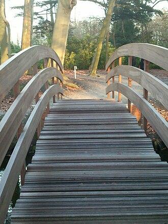 Middelheim Open Air Sculpture Museum - Image: Bridge Ai Wei Wei front view