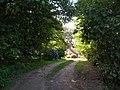 Bridleway past cottage - geograph.org.uk - 560408.jpg
