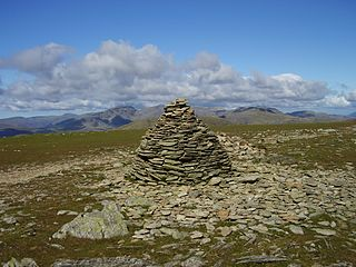 Brim Fell Fell in the Lake District, Cumbria, England