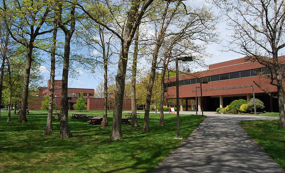 Bristol Community College campus, Fall River, Massachusetts (April 2010)