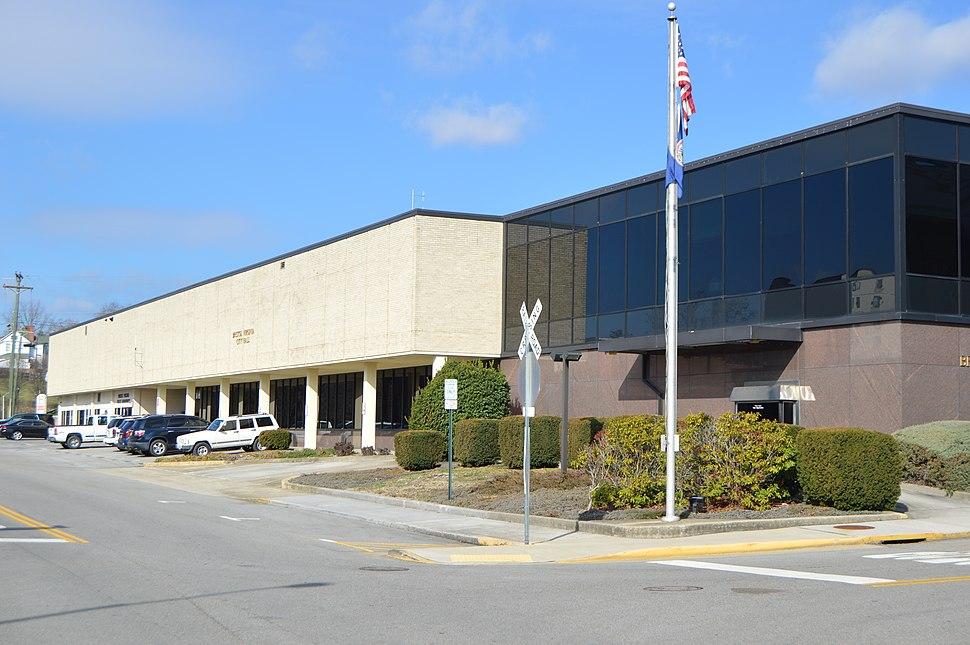 Bristol city hall, Virginia