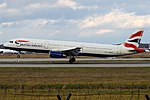 British Airways, G-MEDU, Airbus A321-231 (44945317464).jpg