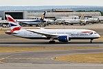British Airways, G-ZBJG, Boeing 787-8 Dreamliner (44355007322).jpg