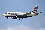 British Airways Boeing 737-505 G-GFFG (26935733736).jpg