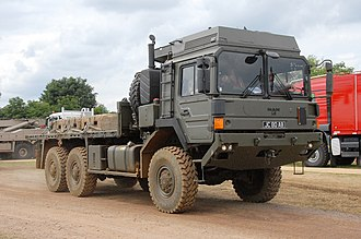 RMMV HX range of tactical trucks - Image: British Army HX58 (6x 6) in standard configuration
