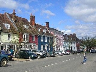 New Alresford Market town in England