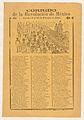 Broadsheet with corrida relating to the Mexican Revolution for the days 9-19 February 1913 MET DP868037.jpg