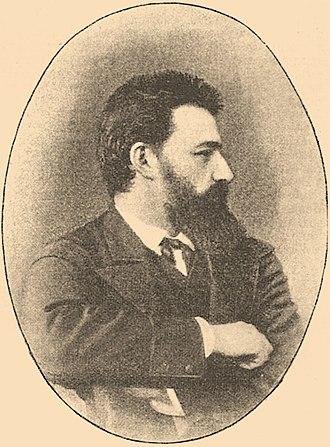 Isaak Asknaziy - Photograph from the Jewish Encyclopedia
