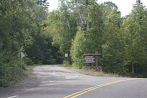 Brockway Mountain Drive - Eastern terminus near Copper Harbor