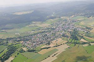 Bromskirchen - Aerial photograph (2013)