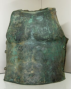 Plate armour - Bronze muscle cuirass, Italy, ca. 350–300 BC