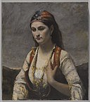Brooklyn Museum - The Young Woman of Albano (L'Albanaise) - Jean-Baptiste-Camille Corot.jpg