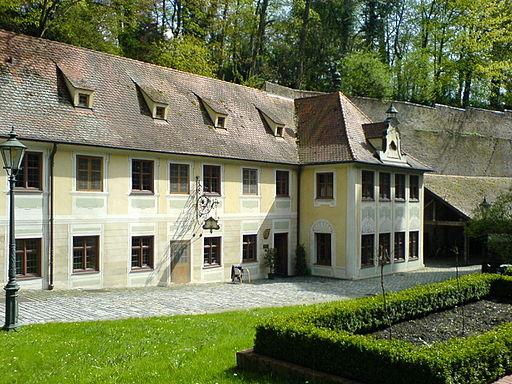 Brunnenmeisterhaus in der Altstadt Augsburg