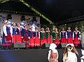 Brześć Kujawski-Spod strzechy band during Folk Festiwal.jpg