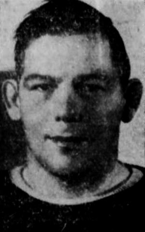 Wilfred McDonald - McDonald pictured in a 1943 newspaper