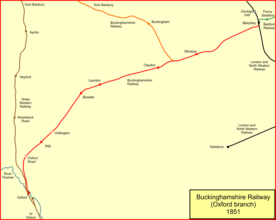 Bucks rly 1851