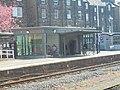 Building on platform 2 seen from platform 1, Harrogate railway station (19th April 2019).jpg