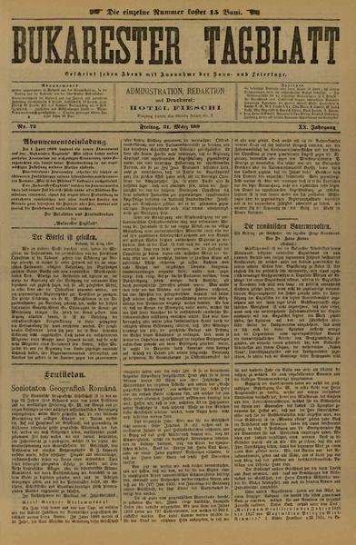 File:Bukarester Tagblatt 1899-03-31, nr. 072.pdf