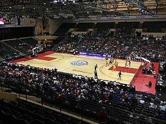 2016–17 Gonzaga Bulldogs men's basketball team - Image: Bulldogs Bobcats 2016 Advo Care Invitational