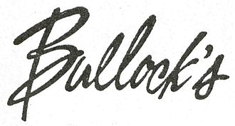 Bullock's - The logo for Bullock's.