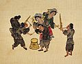 Bulong Miao. A musical scene of the Bulong Miao Wellcome L0031316.jpg