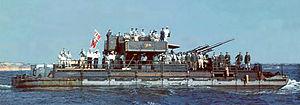 Bundesarchiv N 1603 Bild-054, Schwarzes Meer, Siebelfähre mit 8,8cm Flak ArM.jpg