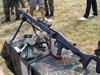 Rheinmetall MG 3 - MG 3 on display