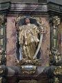 Burgusio-Burgeis, Abbazia di Monte Maria, pulpit 008.JPG