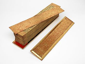 Buddhist texts - Burmese Pali manuscript