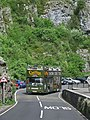 Bus in Cheddar Gorge - geograph.org.uk - 1748496.jpg