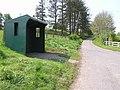 Bus shelter at Killeeshil - geograph.org.uk - 167730.jpg