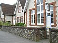 Bus stop outside the old school, South Harting - geograph.org.uk - 795412.jpg