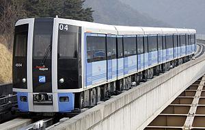Busan Metro Line 4 - Image: Busan Metro EMU Class 4000