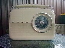 Histoire de la radio wikip dia for Le transistor