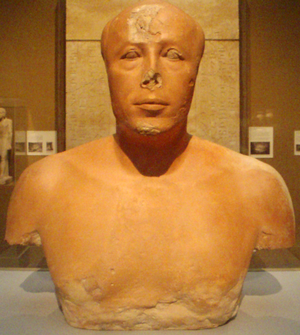 Ankhhaf - Bust of Prince Ankhhaf, now at the Museum of Fine Arts, Boston