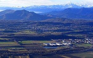Buttigliera Alta - Panorama from Mount Musinè