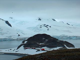 Cámara Base Antarctic base in Argentina