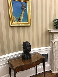 Bust of Martin Luther King Jr. (Alston)