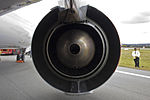 CFM International CFM56-7B26 fitted to Qantas (VH-VZY) Boeing 737-838 (WL) at the Canberra Airport open day (1).jpg