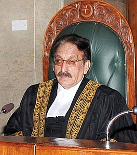 Iftikhar Muhammad Chaudhry Pakistani judge