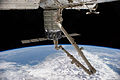CRS Orb-2 Cygnus 3 S.S. Janice Voss berthed to ISS (ISS040-E-069582).jpg