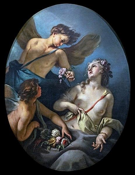 File:Ca' Rezzonico - Zefiro e Flora (Inv.103) - Sebastiano Ricci.jpg