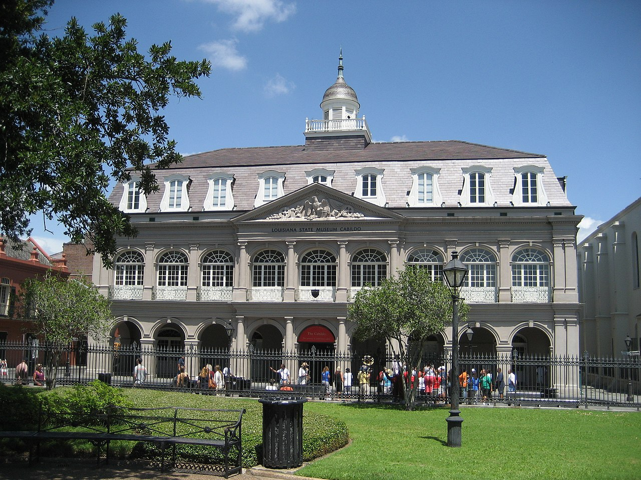 Cabildo building in New Orleans