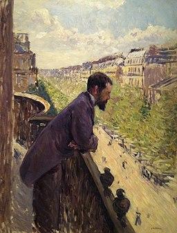Caillebotte balcon