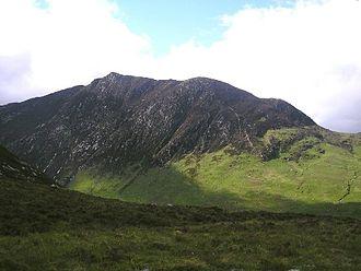 Caisteal Abhail - Caisteal Abhail seen from Glen Sannox