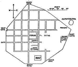 Silchester - Site plan